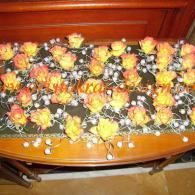 Цветочные браслеты на руки приглашенным дамам