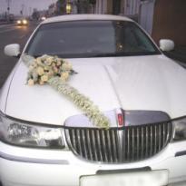 Украшение свадебных машин №10