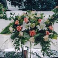 Украшение свадебных машин №11
