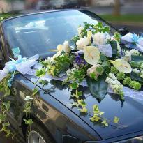Украшение свадебных машин №12