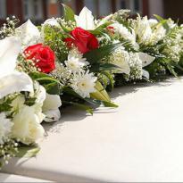 Украшение свадебных машин №13