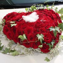 Украшение свадебных машин №1