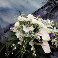 Украшение свадебных машин №20
