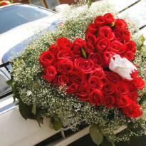 Украшение свадебных машин №2