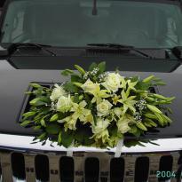 Украшение свадебных машин №3