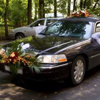 Украшение свадебных машин №6