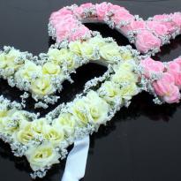Свадебные украшения на машину №26