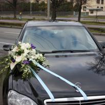 Украшение свадебных машин №7