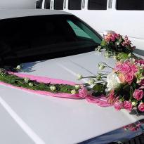 Украшение свадебных машин №8