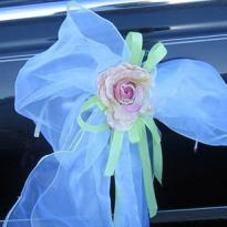 Свадебные украшения на машину №28