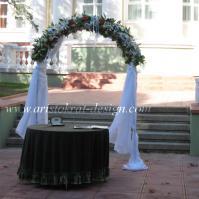 Свадебная арка №8