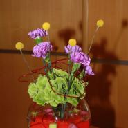 Оформление цветами №27