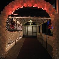 украшение праздников шарами №8